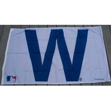 "3' x 5' Chicago Cubs ""Win"" Flag"