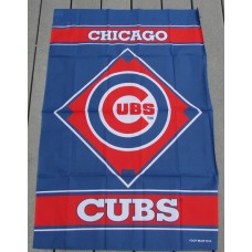 "28"" x 40"" Chicago Cubs Banner"