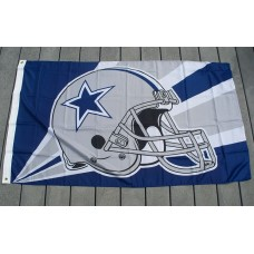 3' x 5' Dallas Cowboys Helmet Design Flag