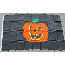3' x 5' Halloween Pumpkin Flag